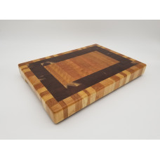 Double Border Cherry Butcher Block